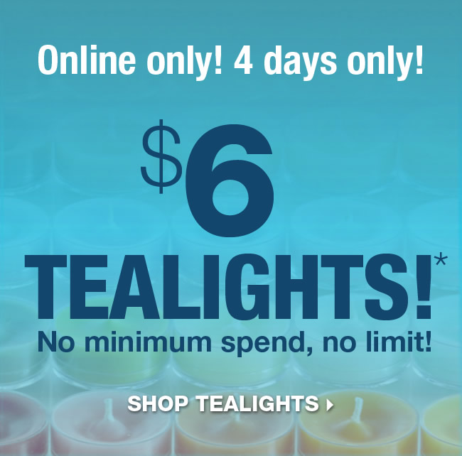 Partylite Edmonton Tealight Sale - 4 days only